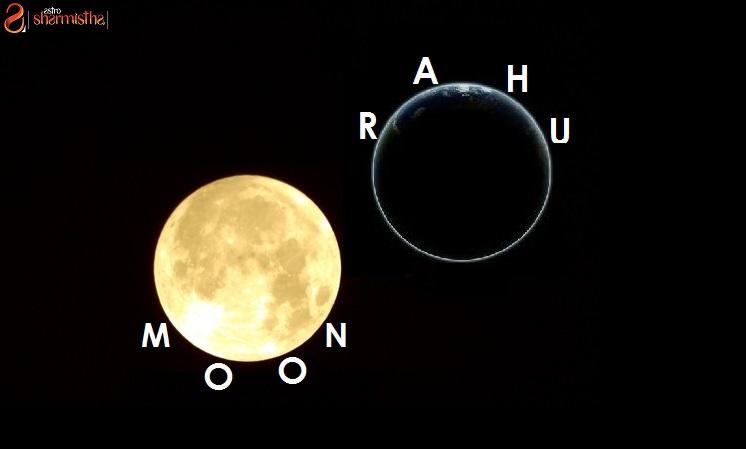 Rahu - Moon Conjunction In Vedic Astrology -